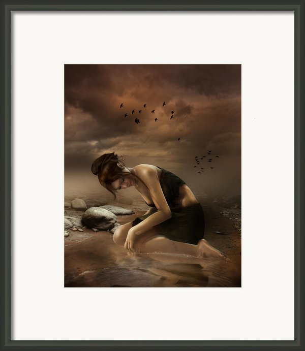 Desolation Framed Print By Karen Koski