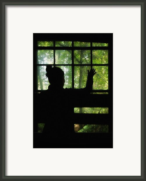 Desperate Ways Framed Print By Evelina Kremsdorf