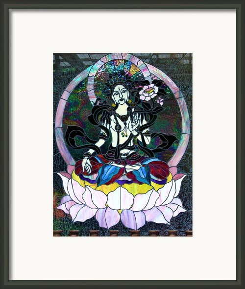 Devi Shakti Goddess Framed Print By Karon Melillo Devega
