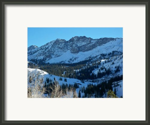 Devils   Castle  Framed Print By Michael Cuozzo