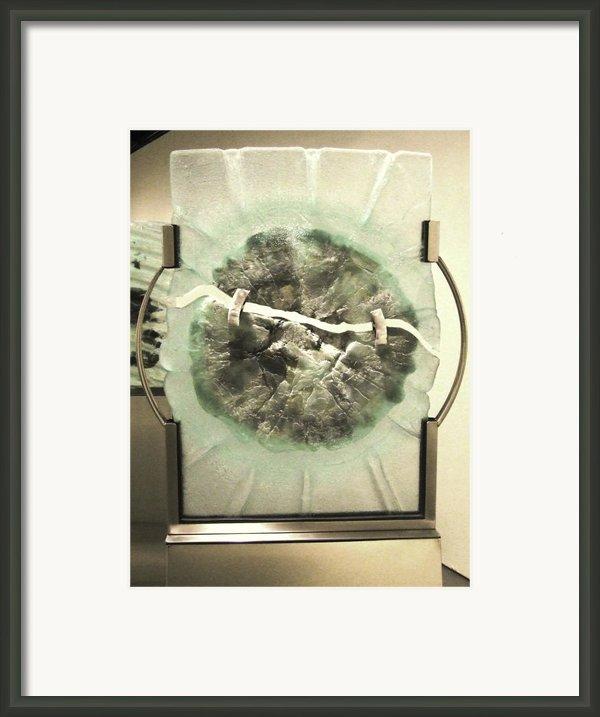Devitrification Framed Print By Sarah King
