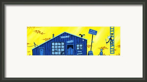 Did You See That Framed Print By Dan Keough