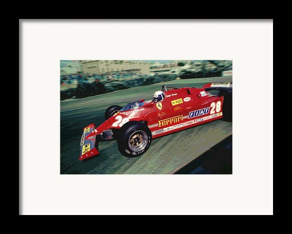 Didier At Long Beach Framed Print By Mike Flynn