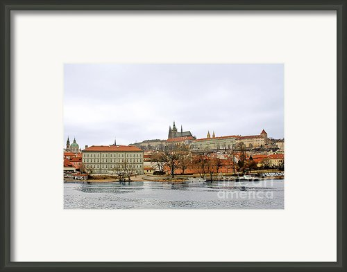 Die Moldau - Prague Framed Print By Christine Till