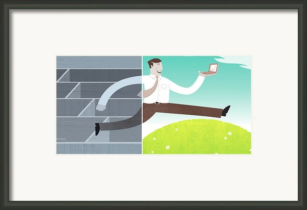 Digital Illustration Framed Print By All Images ? Tyler Garrison, 2009.
