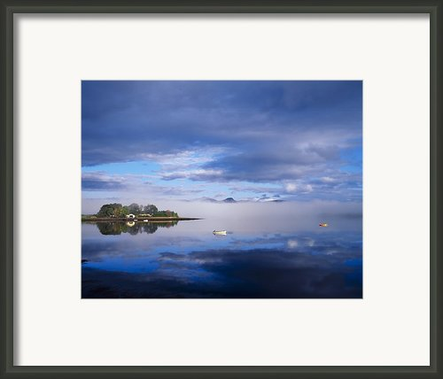 Dinish Island, Kenmare Bay, County Framed Print By The Irish Image Collection