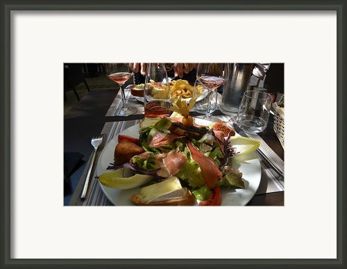 Dinner Is Served Framed Print By Dany Lison