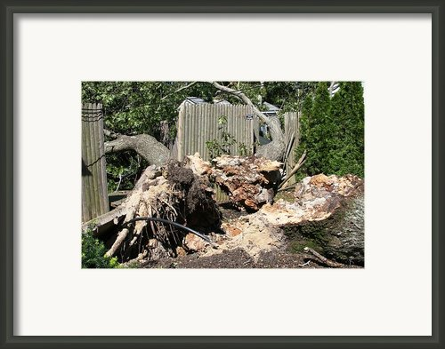 Disaster 9 Framed Print By Paul Sequence Ferguson             Sequence Dot Net