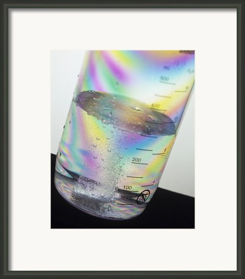 Dissolving Tablet Framed Print By Sheila Terry