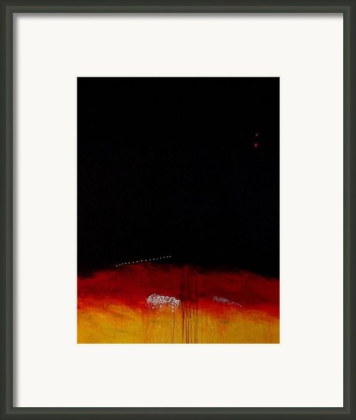 Distination Framed Print By Jorgen Rosengaard