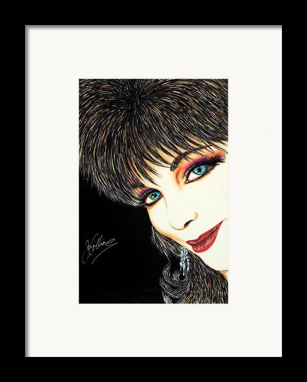 Diva Nasty Framed Print By Joseph Lawrence Vasile