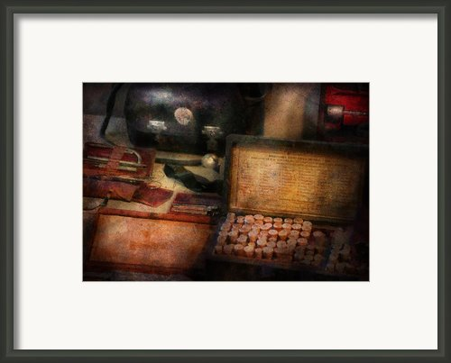 Doctor - Everything You Need To Be A Doctor Framed Print By Mike Savad