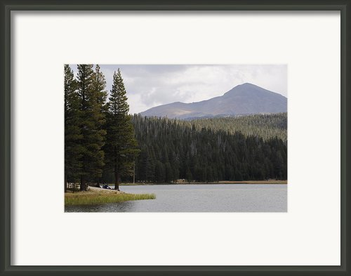 Dog Lake Framed Print By Meagan Suedkamp