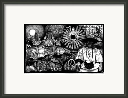 Dogon Dream Framed Print By Matthew Ridgway
