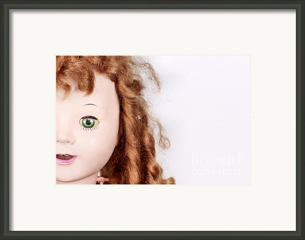 Dolly Framed Print By Caryn Drexl