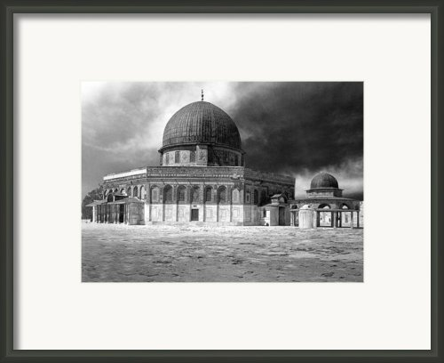 Dome Of The Rock - Jerusalem Framed Print By Munir Alawi