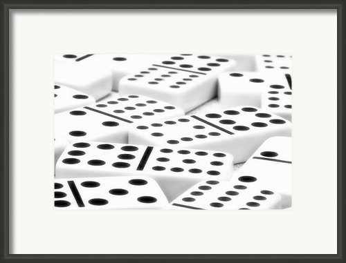 Dominoes Ii Framed Print By Tom Mc Nemar