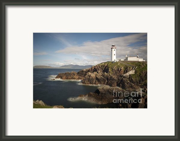 Donegal Lighthouse Framed Print By Andrew  Michael