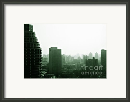 Doomsday Shanghai Framed Print By Christine Till