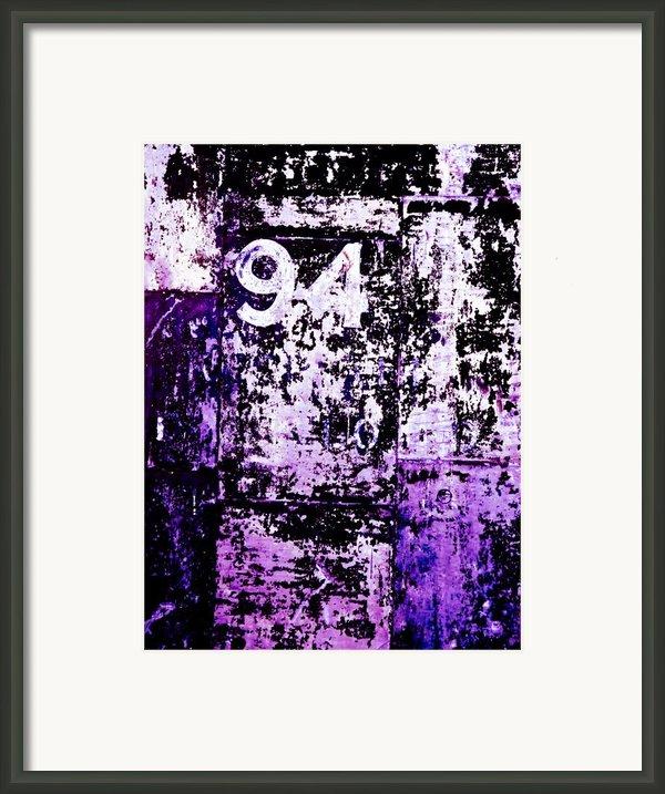 Door 94 Perception Framed Print By Bob Orsillo