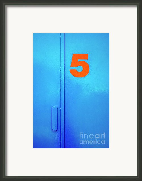 Door Five Framed Print By Carlos Caetano