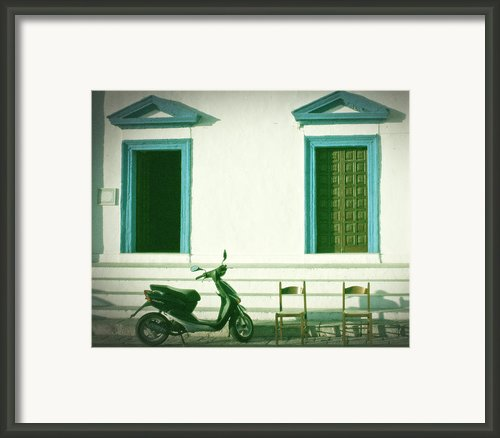 Doors And Chairs Framed Print By Joana Kruse