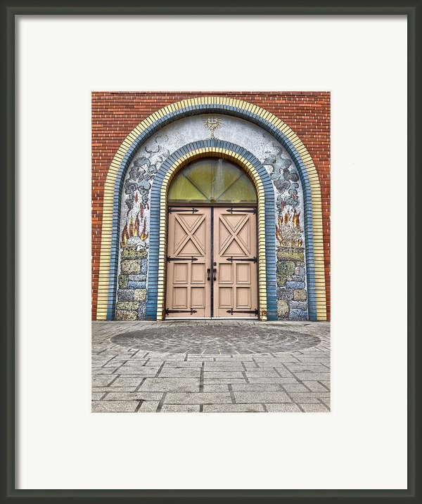 Doors Of Faith  Framed Print By Jerry Cordeiro