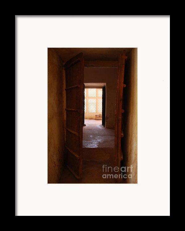 Doorway Framed Print By Jen Bodendorfer