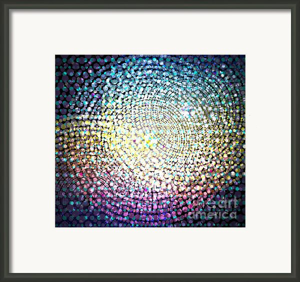 Dots Colors Framed Print By Atiketta Sangasaeng