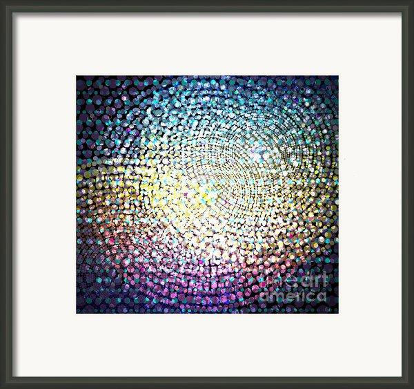 Dots Colors Framed Print By Atiketta Sangasaeng
