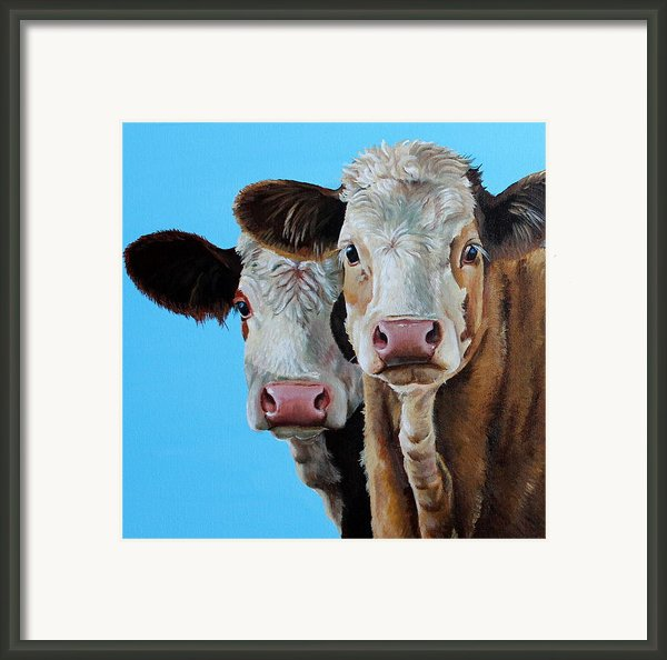 Double Dutch Framed Print By Laura Carey