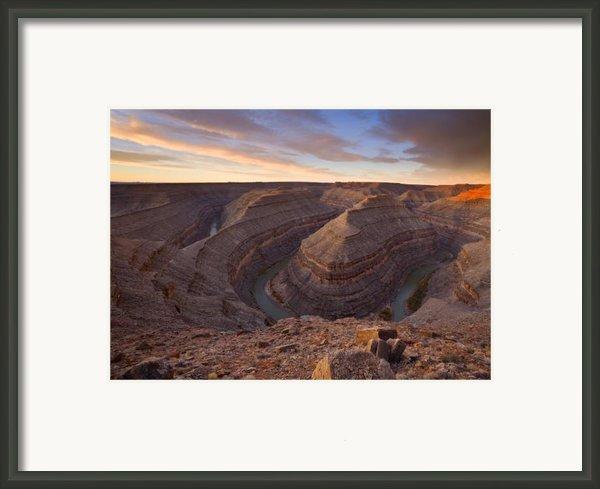Doubleback Framed Print By Mike  Dawson