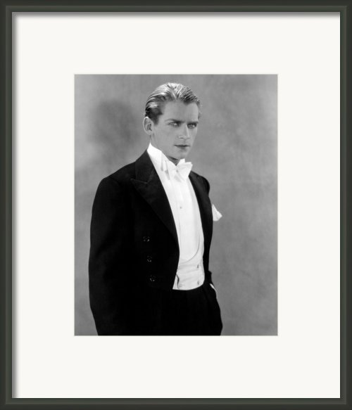 Douglas Fairbanks, Jr., Early 1930s Framed Print By Everett