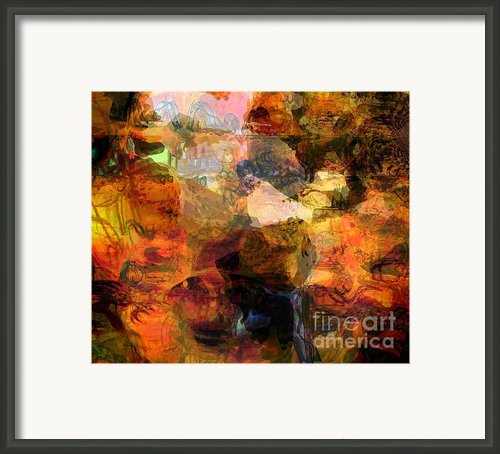 Down To Earth Framed Print By Fania Simon
