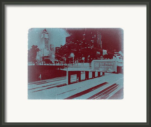 Downtown La Framed Print By Irina  March