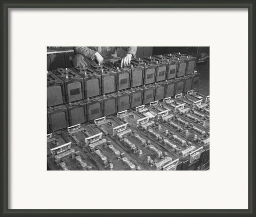 Dozens Of 12 Volt Rechargeable Framed Print By Everett