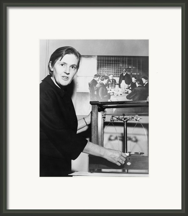 Dr. Frances Oldham Kelsey Framed Print By Everett