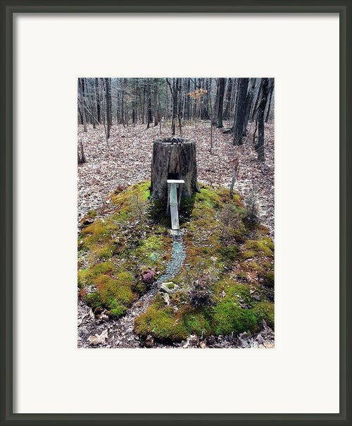 Draw Bridge Castle Framed Print By Kay Sawyer