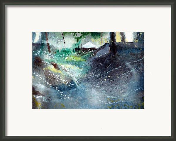 Dream House 2 Framed Print By Anil Nene
