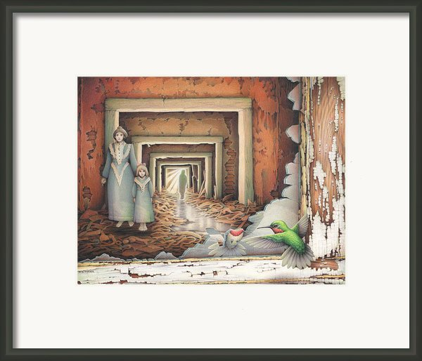 Dream Series - Transfixed Framed Print By Amy S Turner