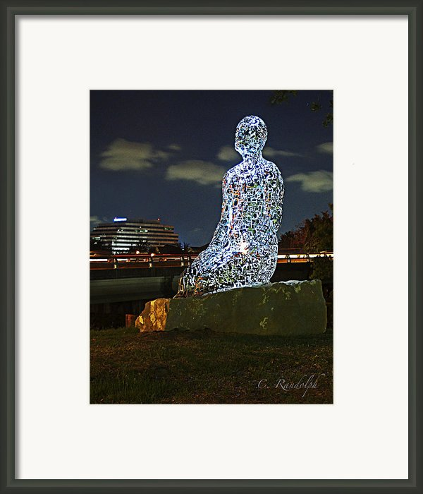 Dreaming Of Tolerance Framed Print By Cheri Randolph