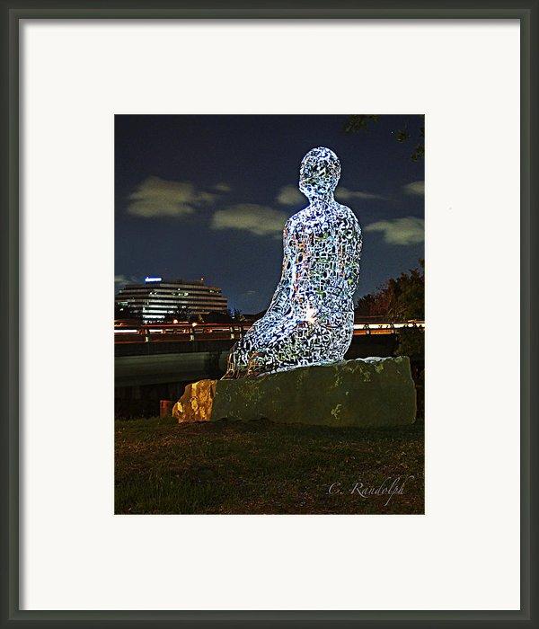 Dreaming Of Tolerance Framed Print By Cheri Randolph