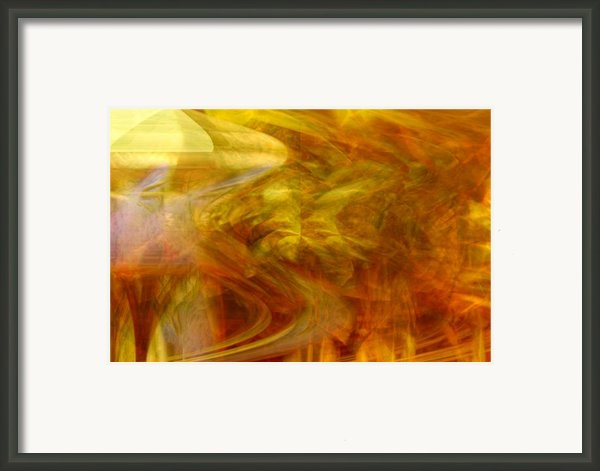 Dreamstate Framed Print By Linda Sannuti