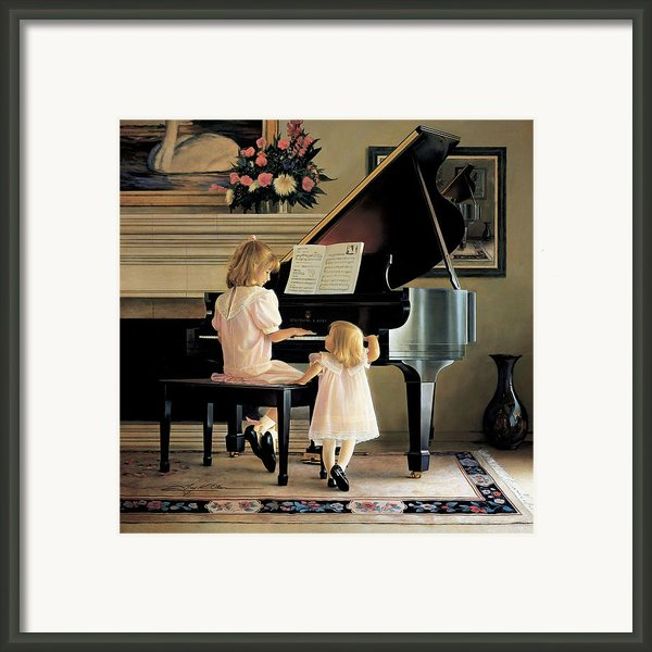 Dress Rehearsal Framed Print By Greg Olsen
