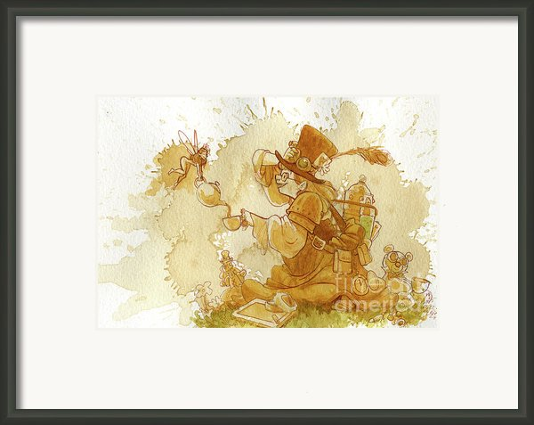 Dress Up Framed Print By Brian Kesinger