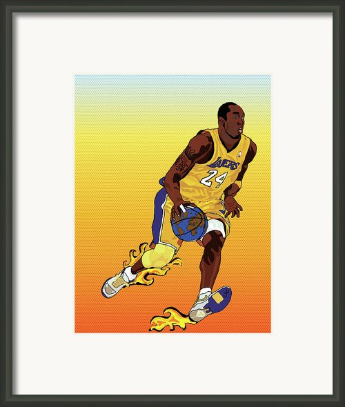 Dribbling The World Framed Print By Paul  Arm