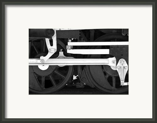 Drive Train Framed Print By Mike Mcglothlen