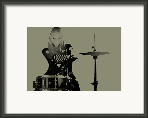 Drummer Framed Print By Irina  March