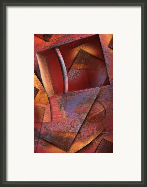 Dumpster One Framed Print By John Clemmer