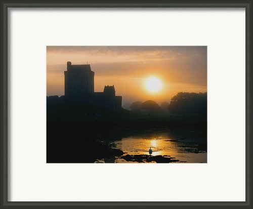Dunguaire Castle, Kinvara, Co Galway Framed Print By The Irish Image Collection